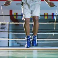saltar la cuerda boxeo